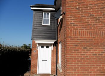 Thumbnail 2 bed end terrace house to rent in Guillemot Close, Stowmarket