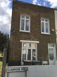 Thumbnail 3 bed end terrace house for sale in Dunmow Road, Stratford London
