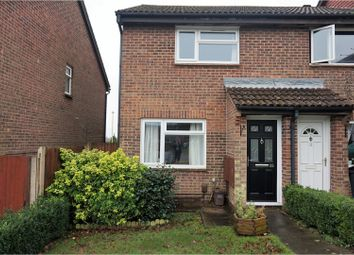 Thumbnail 2 bed end terrace house for sale in Quebec Gardens, Bursledon Green