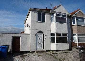 Thumbnail 3 bed semi-detached house to rent in Knowsley Avenue, Rhyl