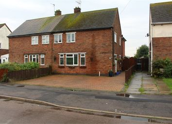 Thumbnail 4 bed semi-detached house for sale in Glebe Road, Broughton Astley, Leicester