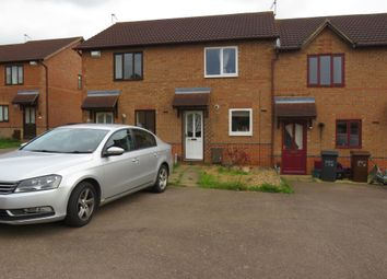 Thumbnail 2 bed terraced house for sale in Stagshaw Close, Northampton