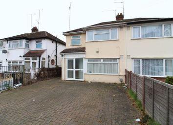 Thumbnail 3 bedroom semi-detached house for sale in Sundon Park Road, Luton
