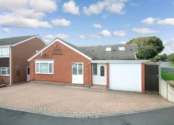 Thumbnail 4 bed detached bungalow for sale in Healey, Lakeside, Tamworth