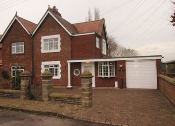 Thumbnail 3 bed semi-detached house for sale in Dunston, Stafford