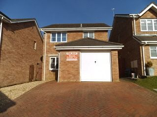 Thumbnail 3 bed detached house for sale in Maes Yr Eirlys, Broadlands, Bridgend