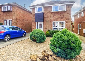 Thumbnail 4 bedroom detached house for sale in The Slip, Brixworth, Northampton