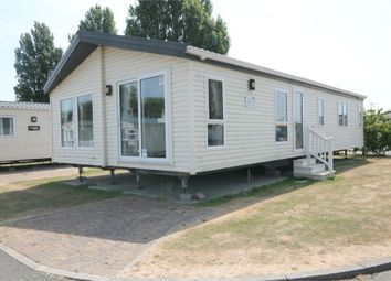 Thumbnail 3 bed mobile/park home for sale in Naze Marine Holiday Park, Hall, Walton On The Naze