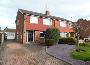 Thumbnail 3 bed semi-detached house for sale in Woodnoth Drive, Shavington, Crewe