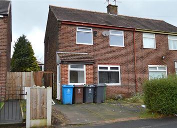 Thumbnail 2 bed semi-detached house for sale in Mora Avenue, Chadderton, Oldham