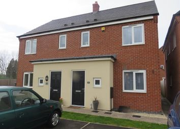 Thumbnail 3 bed semi-detached house for sale in Bagnall Way, Hawkesyard, Rugeley