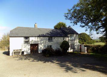 Thumbnail 4 bed farmhouse to rent in Gidcott, Holsworthy