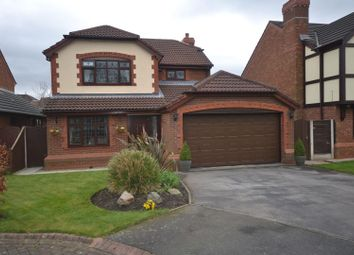 Thumbnail 4 bed detached house for sale in Farndale Close, Whittle Hall, Warrington