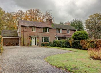 Thumbnail 4 bed semi-detached house for sale in Firenze, 268 Albert Drive, Woking