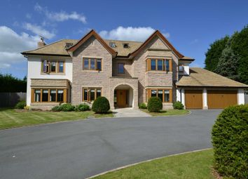 Thumbnail 5 bed detached house for sale in Macclesfield Road, Prestbury, Macclesfield