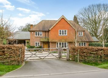 Thumbnail 4 bed detached house for sale in New Road, Timsbury, Romsey