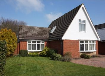 Thumbnail 4 bed detached house for sale in Anker Close, Burntwood