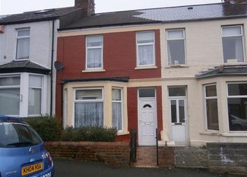 Thumbnail 2 bed terraced house to rent in Coigne Terrace, Barry