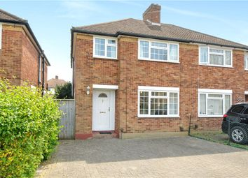 Thumbnail 3 bed property to rent in Woodlands Avenue, Ruislip, Middlesex