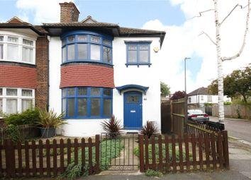 Thumbnail 3 bed semi-detached house for sale in Rosedene Avenue, Streatham, London