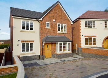 Thumbnail 4 bed detached house for sale in Kilbourn Court Close, Belper, Derbyshire