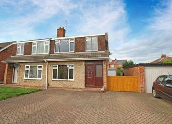 Thumbnail 3 bed semi-detached house for sale in Serina Avenue, Normanton, Derby