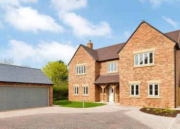 Thumbnail 5 bed detached house for sale in Devereux Close, Kineton