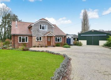 Thumbnail 5 bedroom detached house for sale in Romsey Road, Lockerley, Romsey