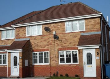 Thumbnail 2 bedroom semi-detached house to rent in Capricorn Crescent, Dovecot, Liverpool
