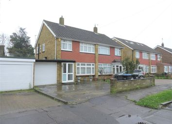 Thumbnail 3 bed semi-detached house for sale in Hunts Mead, Enfield, Greater London