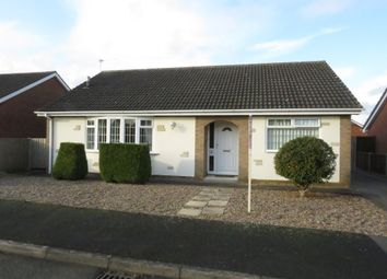 Thumbnail 3 bed detached bungalow for sale in Pelham Close, Sudbrooke, Lincoln