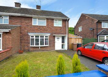 Thumbnail 3 bed semi-detached house for sale in Peveril Crescent, Long Eaton, Nottingham