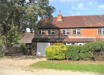 Thumbnail 3 bed semi-detached house to rent in Chestnut Cottages, Cricket Hill Lane, Yateley, Hampshire