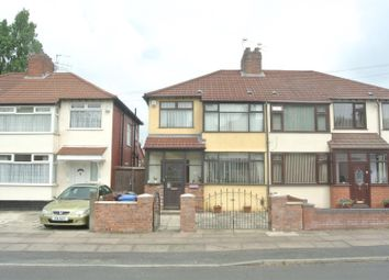 Thumbnail 3 bed semi-detached house for sale in Fairfield Avenue, Huyton, Liverpool