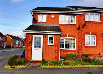 Thumbnail 3 bed semi-detached house to rent in Meadow Brown Road, Nottingham, Nottinghamshire
