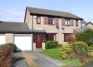 Thumbnail 3 bed semi-detached house for sale in Ryehaugh, Ponteland, Newcastle Upon Tyne