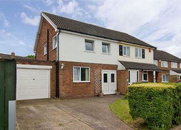 Thumbnail 3 bed semi-detached house for sale in Dyott Close, Streethay, Lichfield
