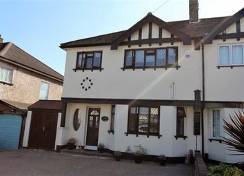 Thumbnail 3 bed semi-detached house for sale in Essex Road, North Chingford, London
