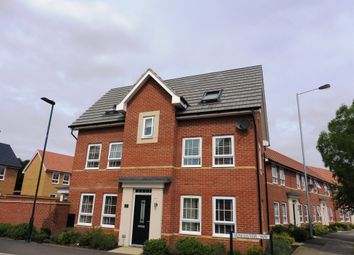 Thumbnail 4 bedroom detached house for sale in Fen View, Ramsey Way, Stanground, Peterborough