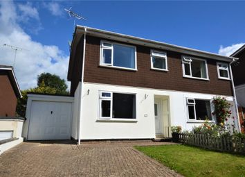 3 bed semi-detached house for sale in Glenview, Honiton, Devon EX14