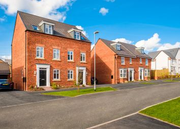 "Thumbnail 3 bed terraced house for sale in ""Kennett"" at Blenheim Close, Stafford"