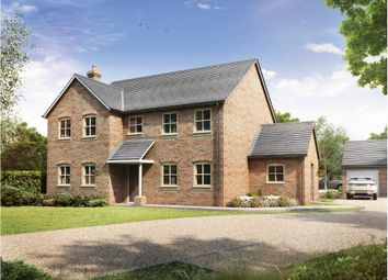 Thumbnail 4 bed detached house for sale in Old Stable Gardens, Tydd St. Giles, Wisbech