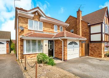 Thumbnail 3 bed detached house for sale in Batcheldor Gardens, Bromham, Bedford, Bedfordshire