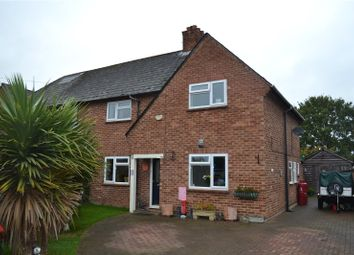 Thumbnail 3 bed semi-detached house for sale in Downfield Road, Waltham St Lawrence, Berkshire