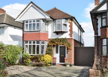 Thumbnail 3 bedroom detached house to rent in Manor Drive North, Worcester Park, Surrey
