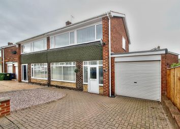 Thumbnail 3 bed semi-detached house for sale in Longniddry Court, Gateshead