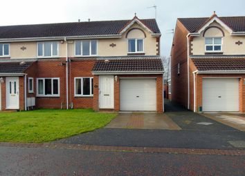 Thumbnail 3 bed terraced house to rent in Crookham Grove, Morpeth