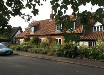 Thumbnail 3 bed semi-detached house for sale in Great Hockham, Thetford, Norfolk