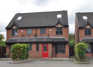 Thumbnail 3 bed semi-detached house for sale in Edgeworth Row, Stansfield Road, Hyde