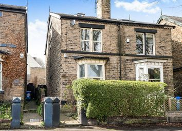 Thumbnail 4 bedroom semi-detached house for sale in Crescent Road, Sheffield